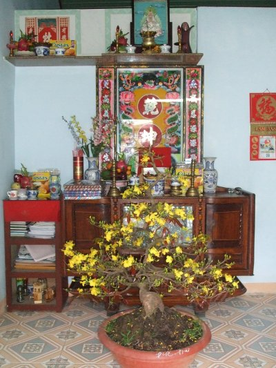 Tượng Phật Quan Âm bằng lụa (Hồng Sinh)