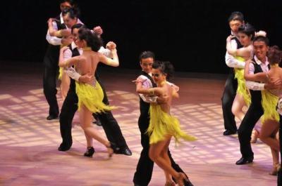 Khiêu vũ,Đặng Trung Sinh-Hồng Sinh