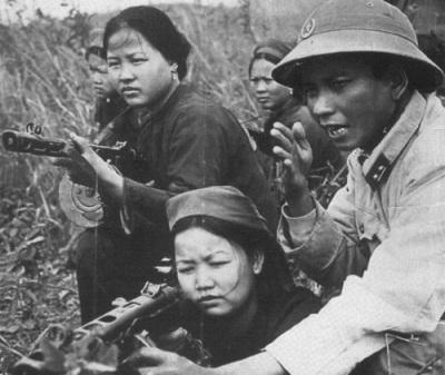 Những người lính đầu tiên bảo vệ đất nước là bộ đội địa phương, công an vũ trang (bộ đội biên phòng), dân quân tự vệ và nhân dân 6 tỉnh biên giới. Ảnh tư liệu.
